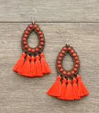 EARRINGS/ RINGS :: TASSEL EARRINGS