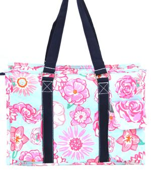 TRAVEL :: Shopping Totes :: Flower Print Large Tote