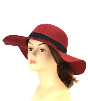 New Arrival :: Fuzzy Ribbon Trim Hat