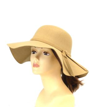 New Arrival :: Bow Trim Floppy Hat