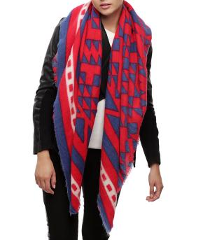 <font color=black>SALE ITEMS</font> :: SCARVES | APPAREL  :: Scarves :: Aztec Pattern Square Scarf