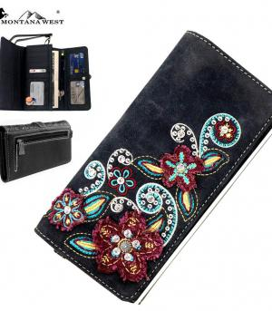HANDBAGS :: Wallets/Small Accessories :: Montana West Floral Collection