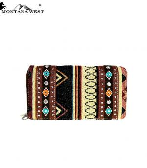 HANDBAGS :: Wallets/Small Accessories :: Montana West Aztec Collection