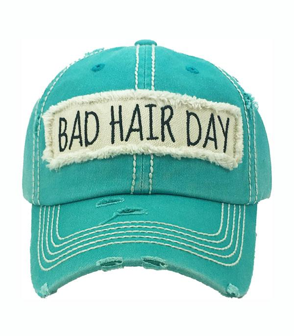New Arrival :: Wholesale Bad Hair Day Vintage Ball Cap