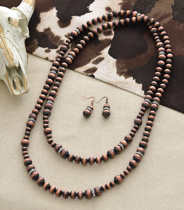 New Arrival :: Navajo Bead Bling Necklace Set