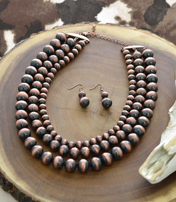 New Arrival :: Navajo Bead Necklace Set