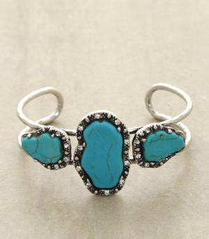 <font color=Turquoise>TURQUOISE JEWELRY</font> :: Trendy Turquoise Bracelet