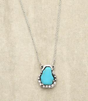 <font color=Turquoise>TURQUOISE JEWELRY</font> :: Turquoise Stone Necklace