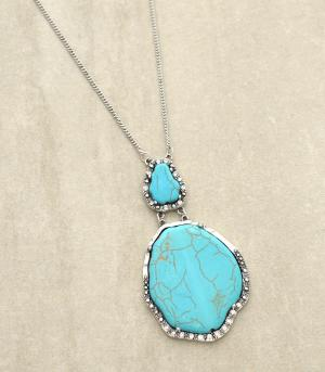 <font color=Turquoise>TURQUOISE JEWELRY</font> :: Trendy Turquoise Necklace