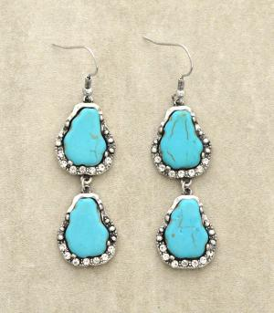 <font color=Turquoise>TURQUOISE JEWELRY</font> :: Trendy Turquoise Earrings