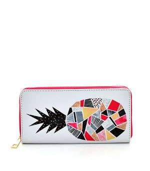 New Arrival :: Geometric Pineapple Print Wallet