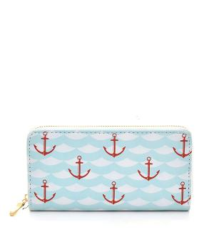 New Arrival :: Anchor Print Wallet