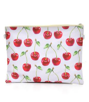 New Arrival :: Cherry Print Fashion Clutch