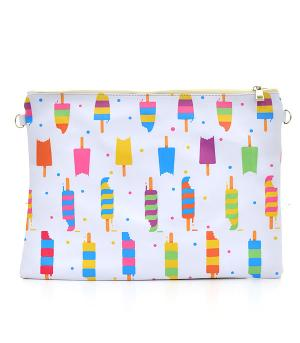 New Arrival :: Ice Cream Print Fashion Clutch