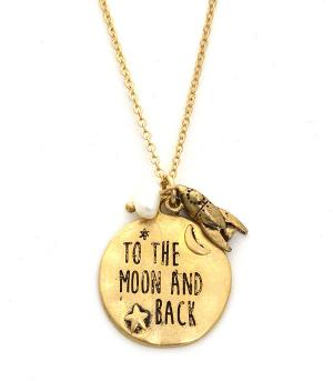 New Arrival :: To The Moon And Back Necklace Set