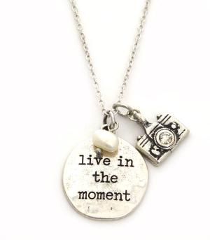 New Arrival :: Live In The Moment Necklace Set