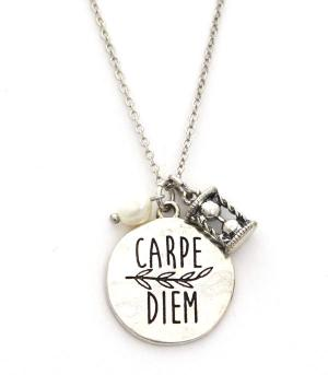 New Arrival :: Carpe Diem Necklace Set