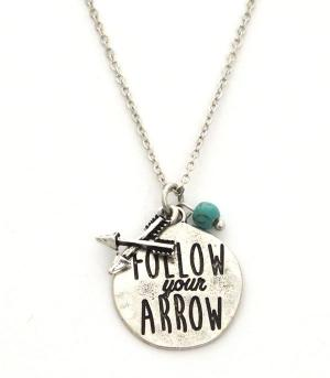 New Arrival :: Follow Your Arrow Necklace Set