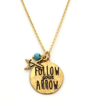 New Arrival :: Follow Your Arrow Necklace