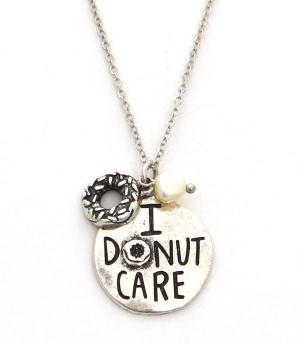 New Arrival :: I Donut Care Necklace Set