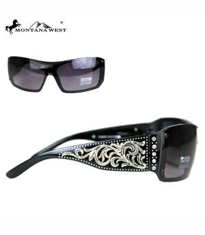 New Arrival :: Montana West Scroll Collection Sunglasses