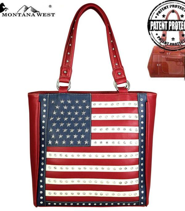 <font color=BLUE>RED,WHITE, AND BLUE</font> :: Montana West American Pride Collection