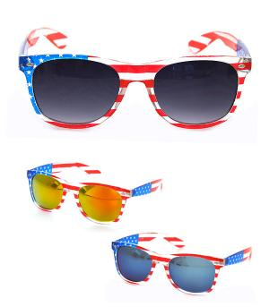 New Arrival :: American Flag Sunglasses