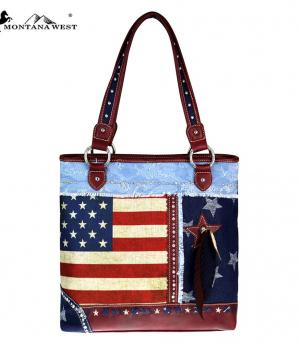 <font color=Red>RED,WHITE, AND BLUE</font> :: Montana West American Pride Collection