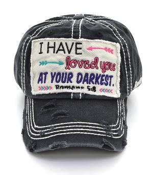 New Arrival :: Romans 5:8 Ballcap