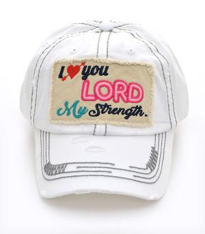 New Arrival :: Psalm 18:1 Ballcap
