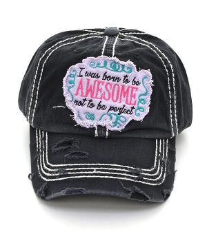 New Arrival :: I Was Born To Be Awesome Ballcap
