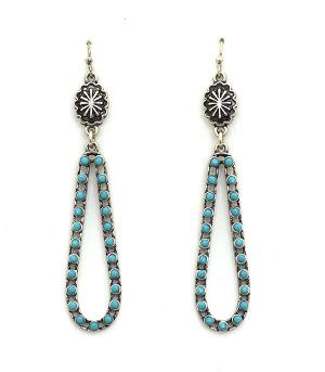 <font color=Turquoise>TURQUOISE JEWELRY</font> :: Turquoise Dangle Earrings