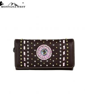 HANDBAGS :: Wallets/Small Accessories :: Montana West Concho Collection