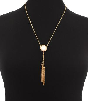 New Arrival :: Druzy Tassel Necklace Set