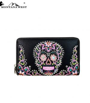 HANDBAGS :: Wallets/Small Accessories :: Montana West Sugar Skull Collection