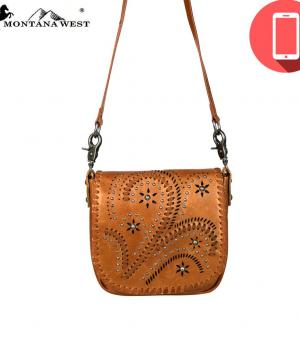 PHONE ACCESSORIES :: Montana West Phone Charging Crossbody