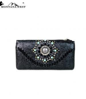 New Arrival :: Montana West Concho Wallet