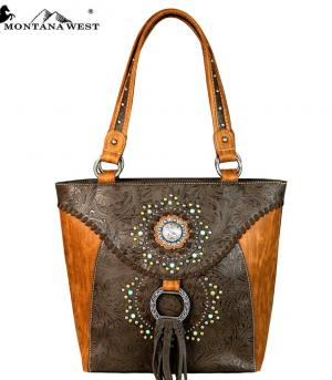 New Arrival :: Montana West Concho Tote