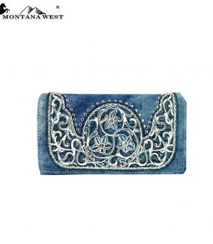 HANDBAGS :: Wallets/Small Accessories :: Montana West Denim Collection