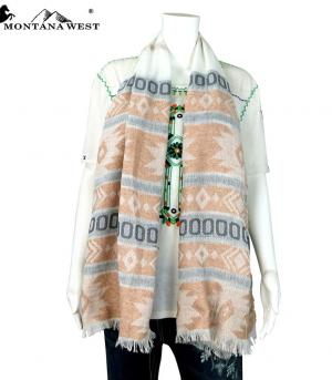 New Arrival :: Montana West Aztec Pattern Scarf