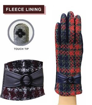 GLOVES/ARM WARMERS :: Retro Checkered Gloves