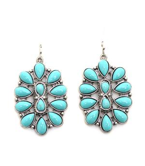 New Arrival :: Turquoise Fashion Earrings