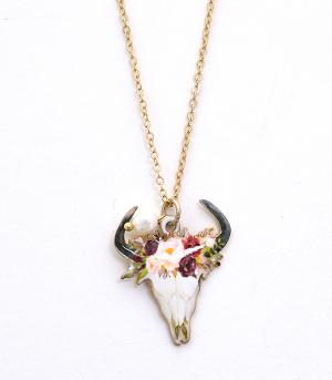 New Arrival :: Steer Head Necklace Set