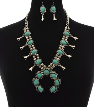 New Arrival :: Trendy Squash Blossom Necklace Set