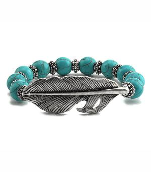 New Arrival :: Beaded Feather Bracelet