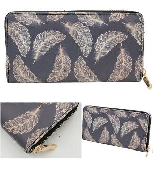New Arrival :: Feather Design Wallet