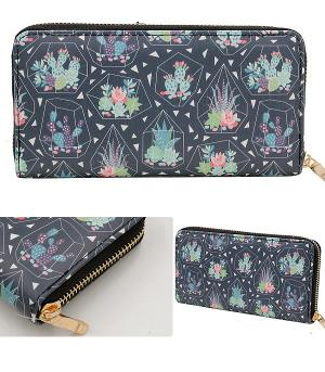 New Arrival :: Cactus Print Wallet