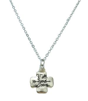 New Arrival :: Y'all Need Jesus Necklace