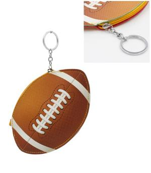 WHAT'S NEW :: Football Coin Pouch Keychain