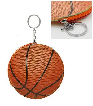 WHAT'S NEW :: Basketball Coin Pouch Keychain